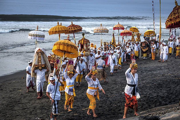 Bali Hindu New Year - an important indonesia public holiday