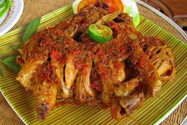 Betutu - famous Bali indonesia food