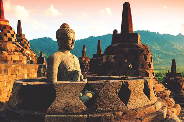 Borobudur Temple - one of the best tourist attractions in Indonesia
