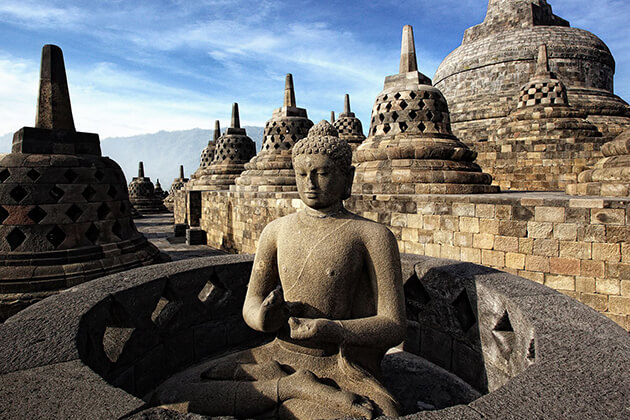 Borobudur Temple - one of the greatest heritage sites in Indonesia