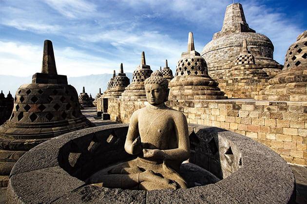 Borobudur Temple visit in indonesia luxury tour package