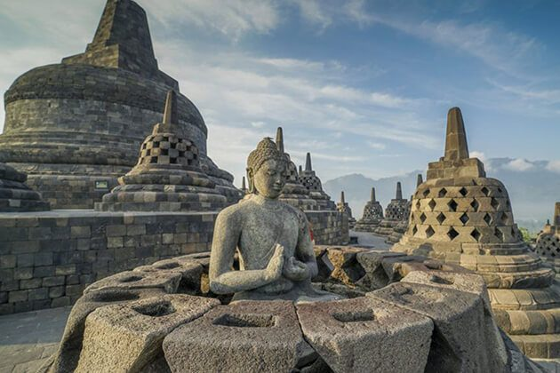 Borobudur temple - attraction for yogyakarta tour