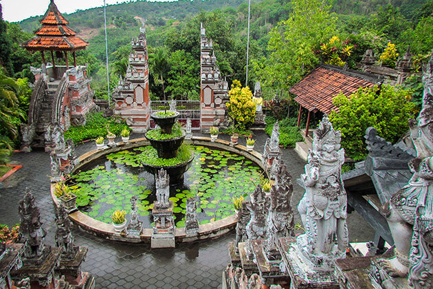 Brahmavihara Arama monastery - place to visit in indonesia tour