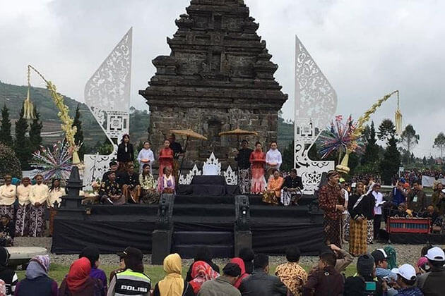 Dieng Culture Festival - exciting festival in indonesia
