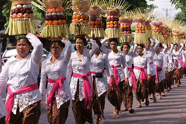 Galungan - one of the biggest festivals in indonesia