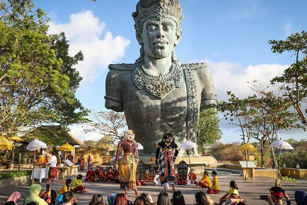 Garuda Wisnu Kencana - great place to visit in indonesia trip