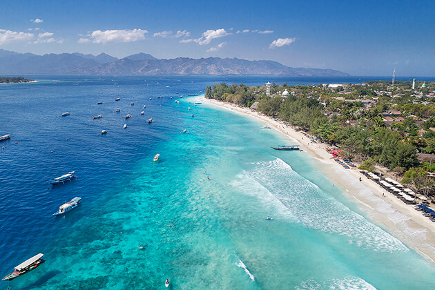 Gili Islands - best place to visit in lombok tour package