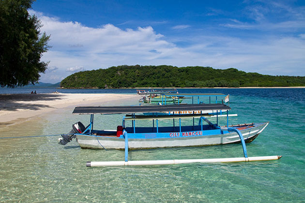 Gili Nanggu island - great spot for lombok tour