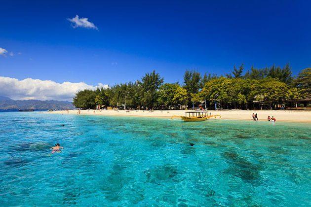 Gili Trawangan Island - ideal spot for indonesial luxury tour