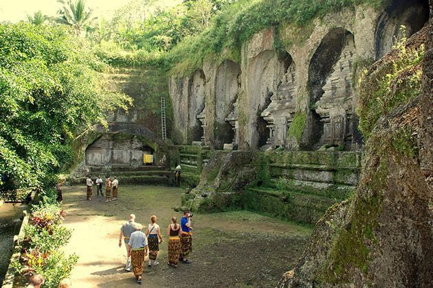 Gunung Kawi temple - amazing site for indonesia honeymoon vacation