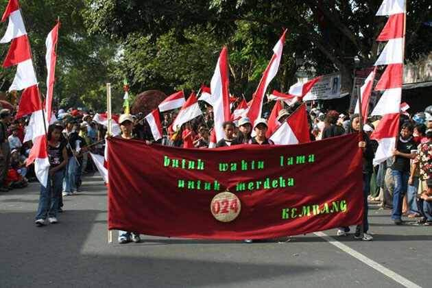 Independence Day - the most important celebration of indonesian