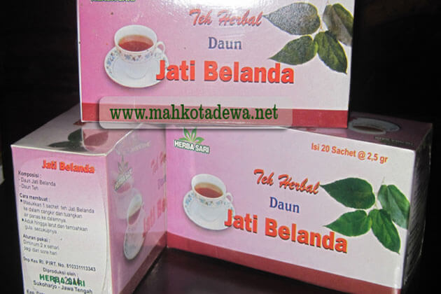 Indonesia Daun Jati Tea - healthy Indonesian tea