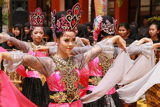 Indonesia People Are Proud of their cultural heritage