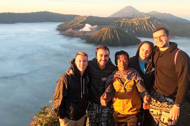 Indonesia adventure holidays - climb to Mt Bromo