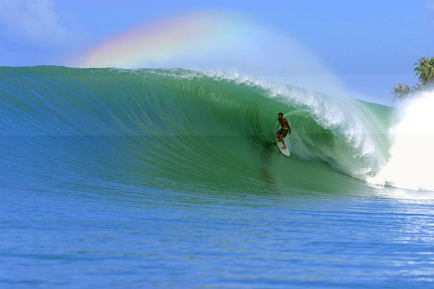 Indonesia adventure tour packages - surfing in indonesia