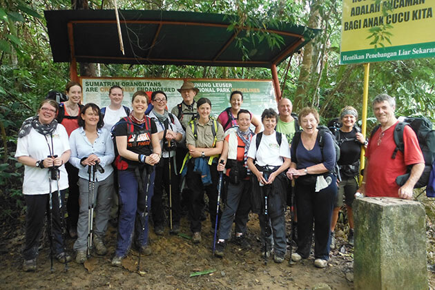 Indonesia adventure tours - Trekking in Sumatra