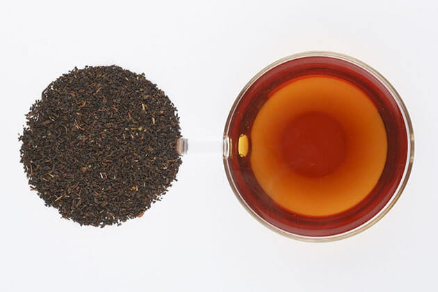 Indonesia black tea - famous Indonesian tea