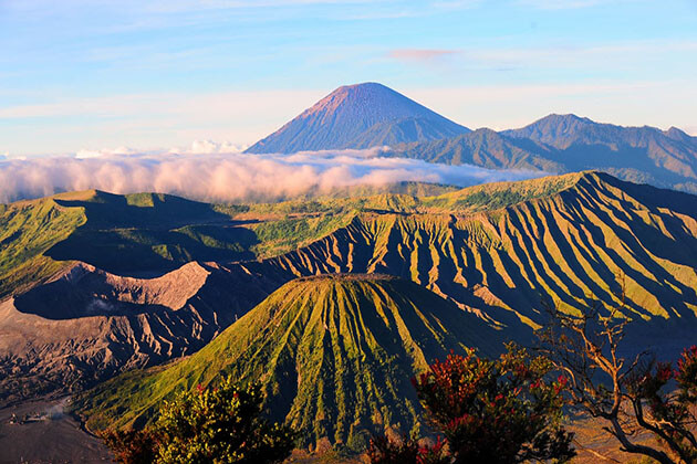 Indonesia - home to the most spectacular volcano in the world