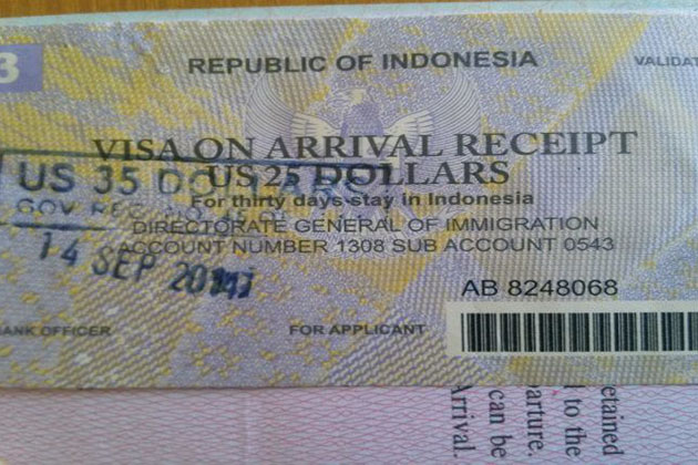 Indonesia visa on arrival