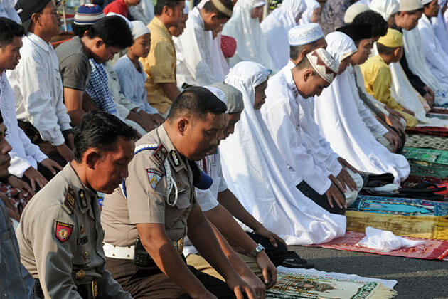 Islam is the largest religion in Indonesia
