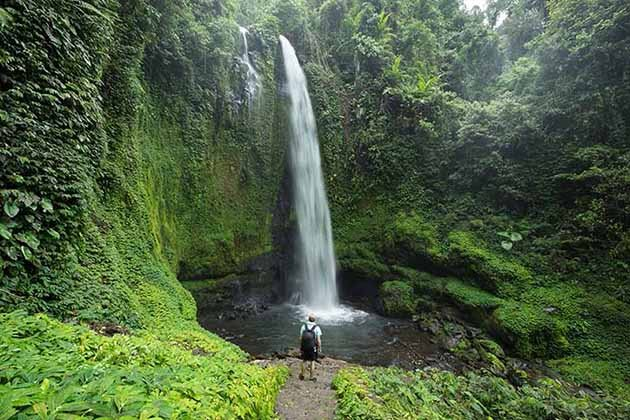 Jeruk Manis waterfall
