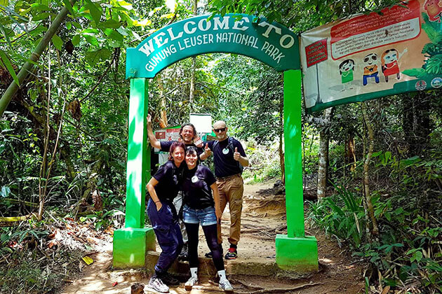 Jungle Trekking - Best activity in Sumatra tours