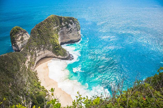 Kelingking Beach is the hidden gem of Indonesia