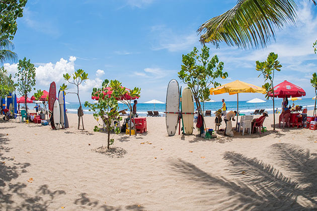 Kuta Beach -must-visit spots in Bali