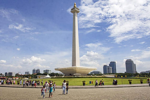 National Monument - best place to visit in jakarta tour