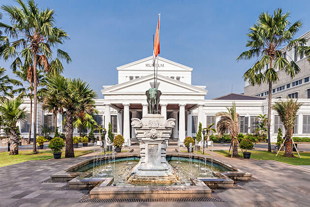 National Museum - highlight of Indonesia tour