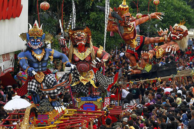 Nyepi Festival - the most important festival in bali indonesia