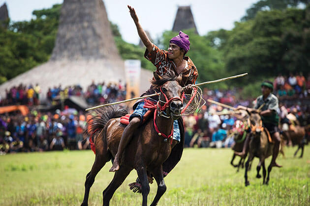 Pasola Festival indonesia one of the most famous jousting festivals