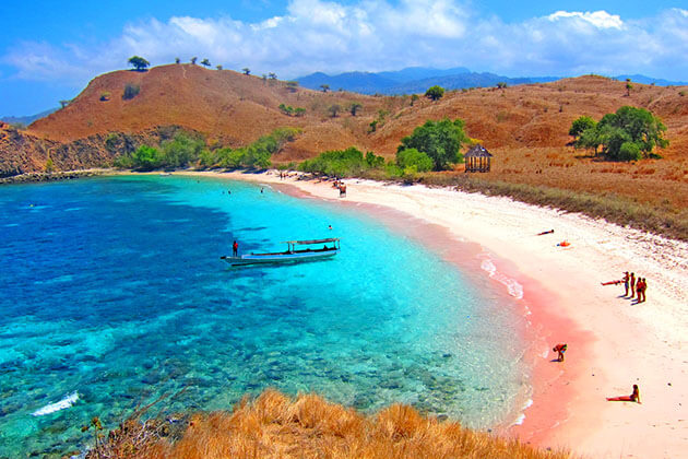 Pink Beach is one of the most stunning beaches in Indonesia