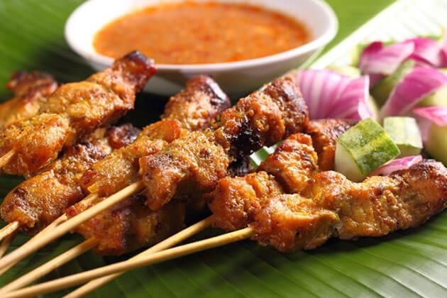 Satay - Indonesia national dish