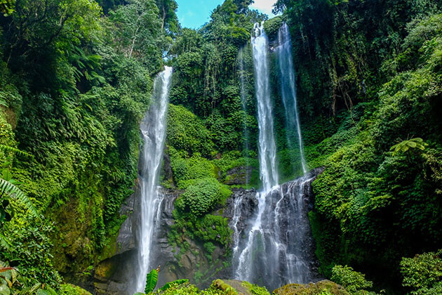 Sekumpul waterfall - an amazing attraction to visit when coming to Bali