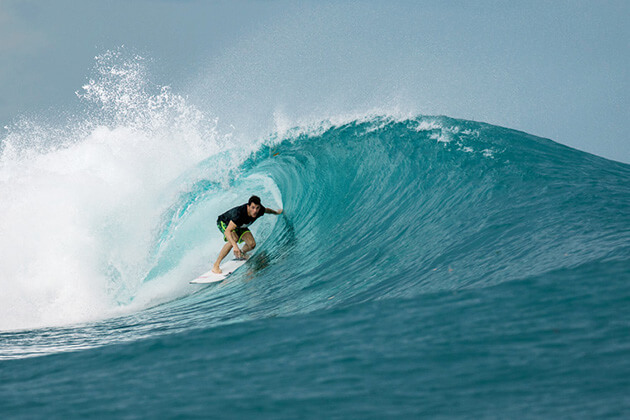 Surfing and Snorkeling in Indonesia