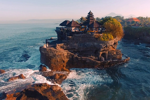 Tanah Lot Sunset - indonesia family tour