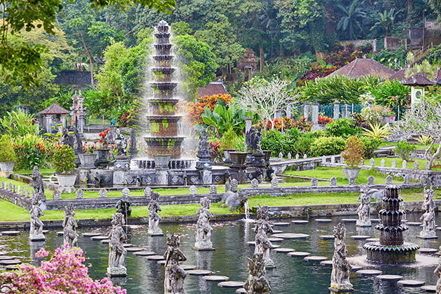 Tirta Gangga - the water palace