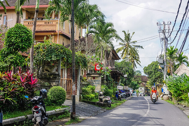 Ubud village - attraction for indonesia tour