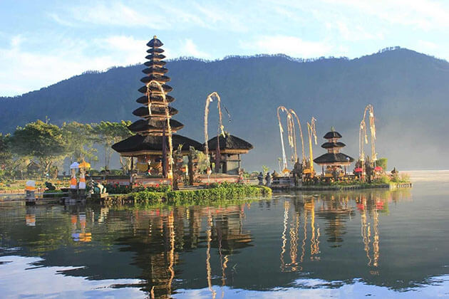 Ulun Danu Bratan Temple - the goddess of the water