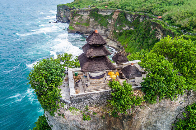 Uluwatu Temple - the last spot of indonesia tour