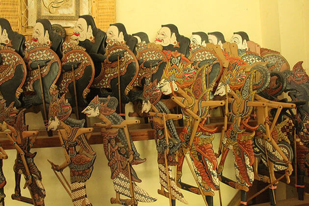 Wayang Puppet - good souvenir to buy in indonesia.