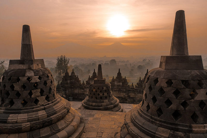 World heritage sites in Indonesia