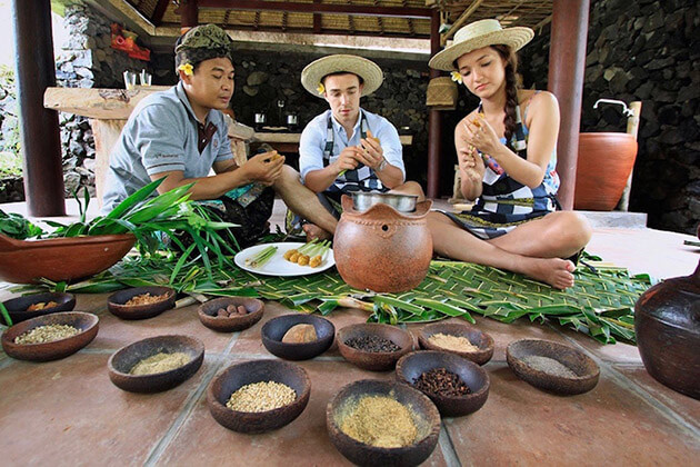 bali cooking class in indonesia luxury tour