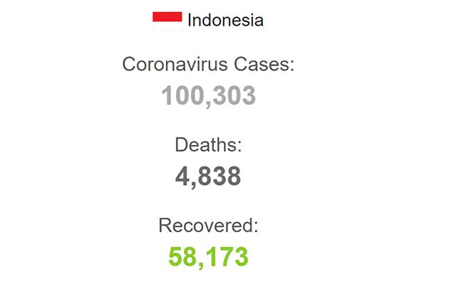 coronavirus in indonesia