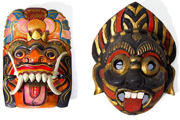 mask - unique indonesia souvenir to buy