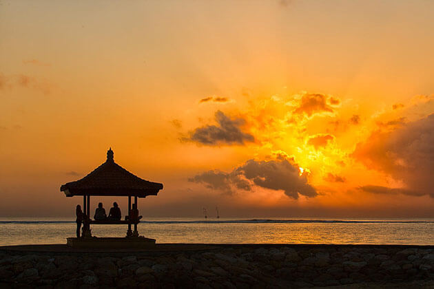 sanur beach relaxation in indonesia luxury tours
