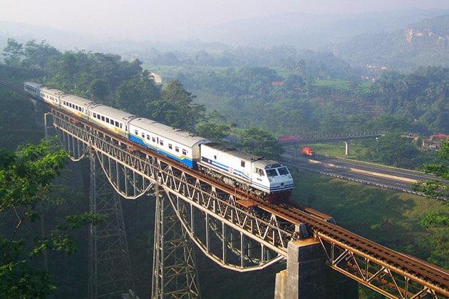 take scenic train ride in indonesia adventure tourism