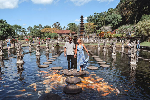 water palace - great attraction for indonesia honeymoon packages